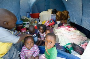 Children in De Doorns IDP Camp