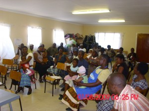 Workshop on gender-based violence in Masiphumelele