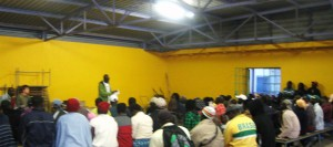Masiphumelele townhall meeting