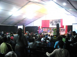 Ray Alexander Simons Event in Gugulethu