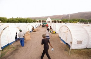 De Doorns new UNHCR tents